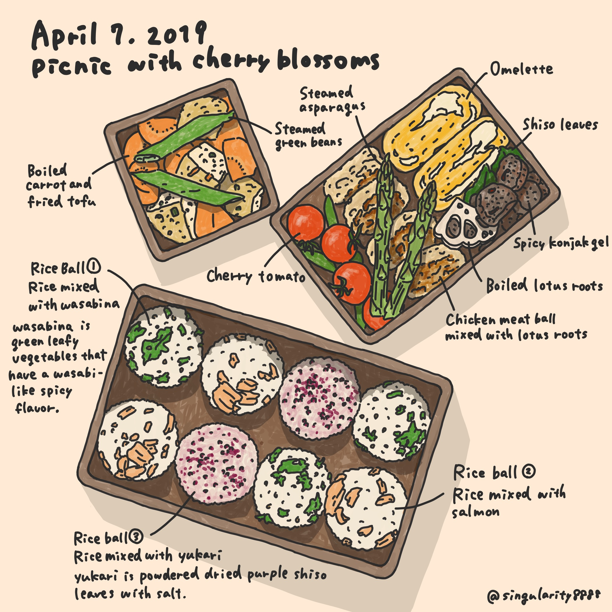 Picnic Lunch on April 7, 2019 Image