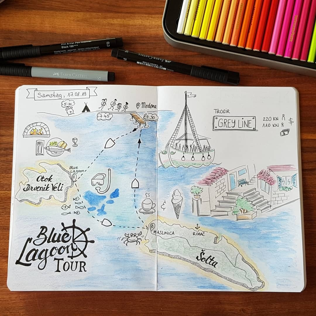 Boat tour to Blue Lagoon & Solta Island (Croatia) Image