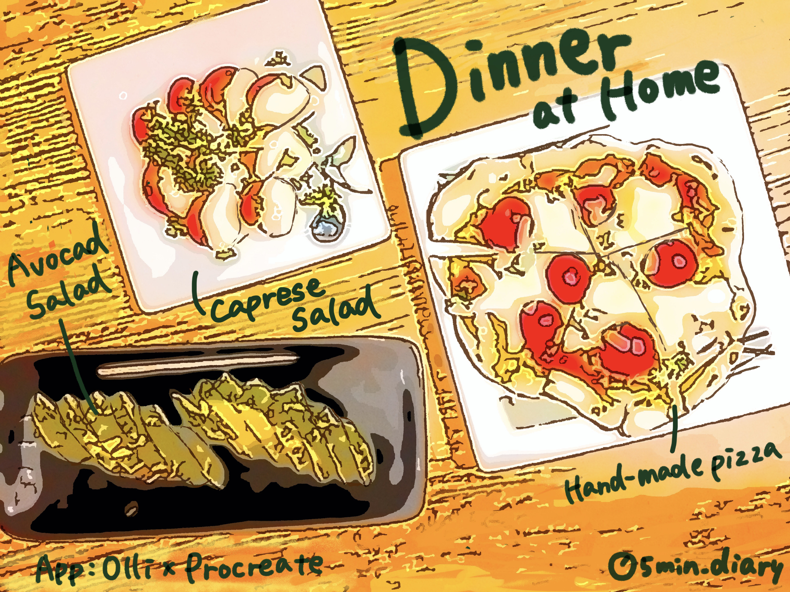 Dinner at Home Image