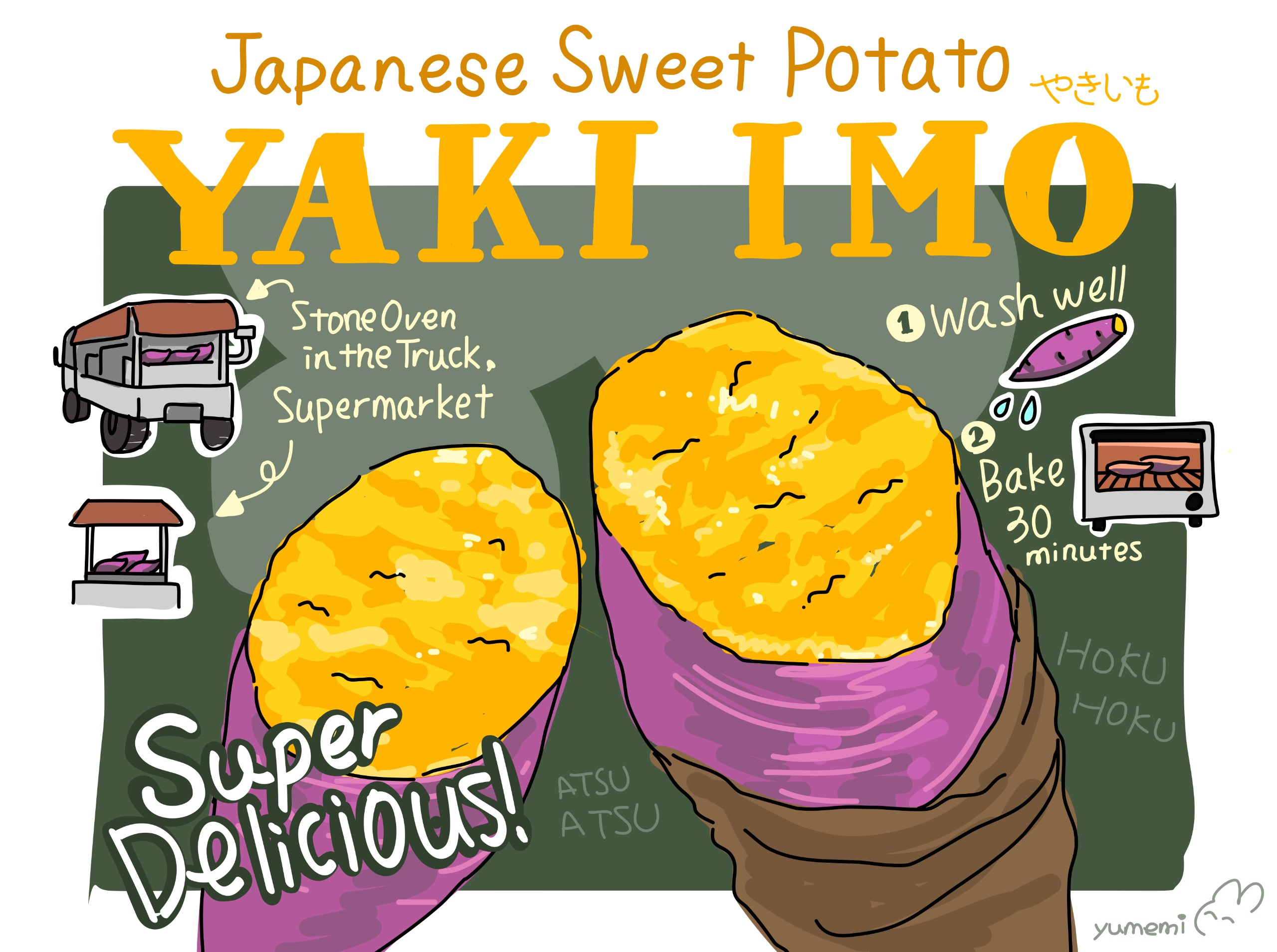 YAKI IMO – Japanese Sweet Potato! Image