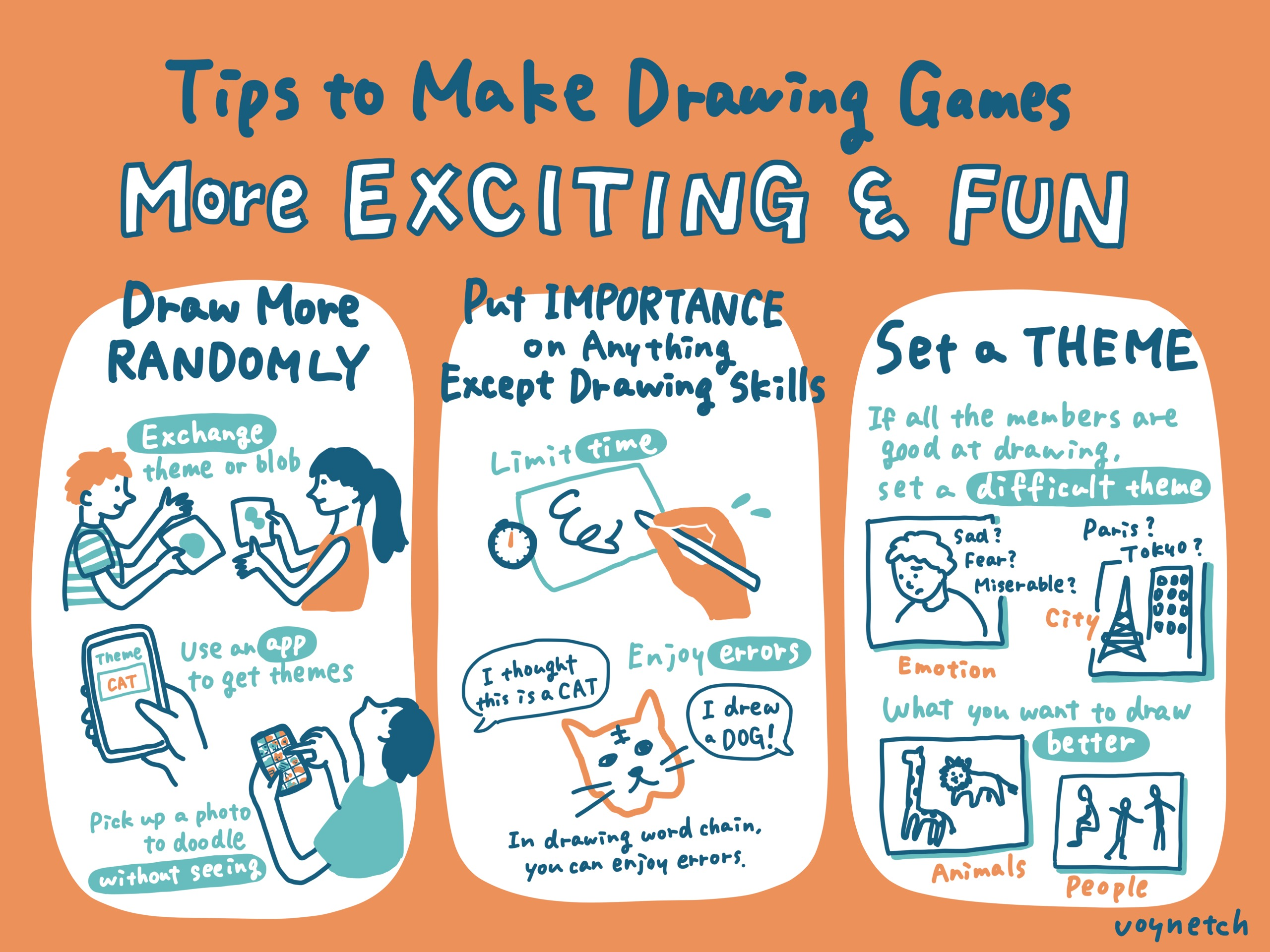 Tips to Make Drawing Games More Exciting & Fun Image (1/1)